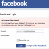 """Devirusare """"Hello your facebook account has been disabled"""""""
