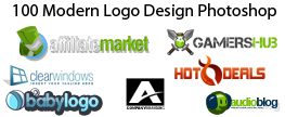 100 Modern Logo Design Photoshop – Free Download – Part1